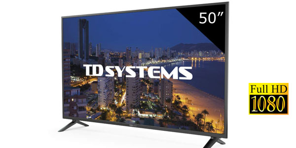 "Televisor TV LED TD Systems K50DLP8F de 50"" barato en Amazon"