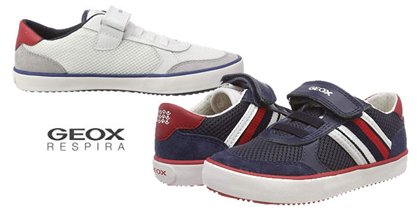 Zapatillas bajas Geox J Alonisso Boy E para niño baratas en Amazon