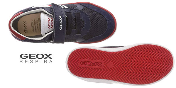 Zapatillas bajas Geox J Alonisso Boy E para niño chollo en Amazon