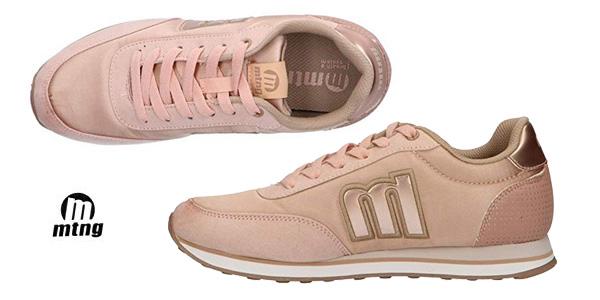Zapatillas deportivas MTNG 56406 casual para mujer chollo en Amazon