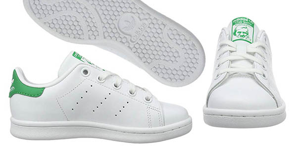 zapatillas infantiles Adidas Stan Smith C oferta