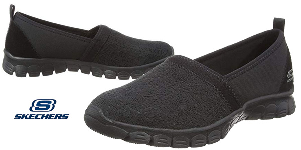 Zapatillas sin cordones Skechers Ez Flex 3.0-Quick Escapade para mujer baratas en Amazon