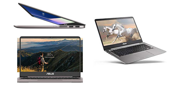 Portátil ASUS ZenBook UX410UA-GV028T en oferta en Amazon