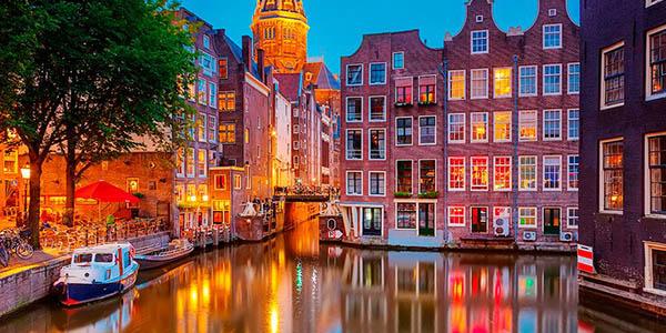 Ámsterdam Holanda escapada de otoño invierno oferta
