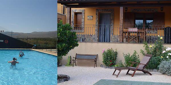 casa rural con piscina barata cerca de Zaragoza
