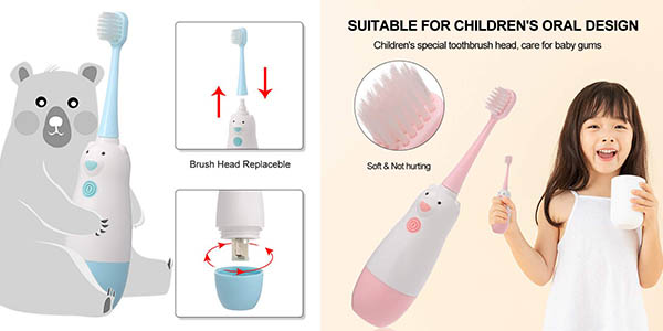 cepillo eléctrico infantil Anself oferta