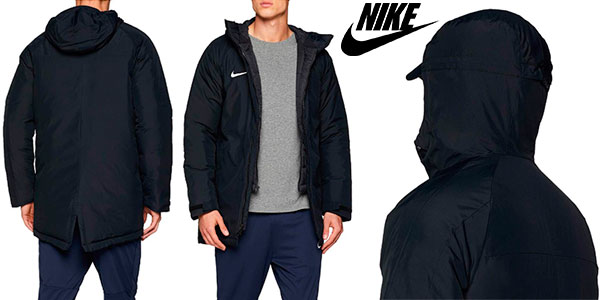 Chollo Chaquetón Nike Academy 18 con capucha para hombre