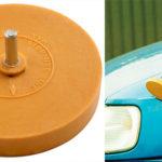 Chollo Disco Power-Tec 91488 para eliminar adhesivos de la carrocería
