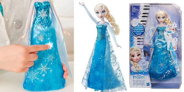 Elsa Vestido Musical de Frozen en oferta