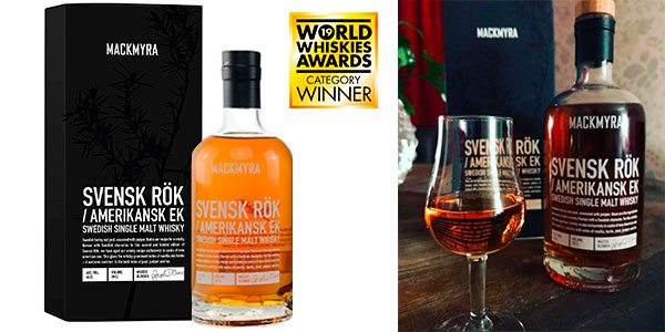 Chollo Whisky premium Mackmyra Svensk Rök American Oak de 700 ml
