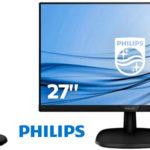 """Chollo Monitor Philips 273V7QDAB IPS LCD Full HD de 27"""" con altavoces"""