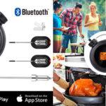 Chollo Termómetro digital AGM de cocción profesional para barbacoa