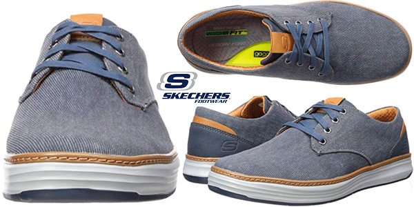 Chollo Zapatillas Skechers Moreno para hombre