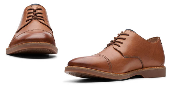 Clarks Atticus Cap zapatos de vestir oferta