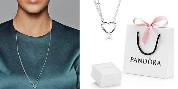 collar de plata para mujer oferta