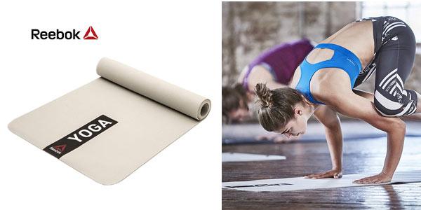 Esterilla de entrenamiento Reebok Yoga Mat barata en Amazon