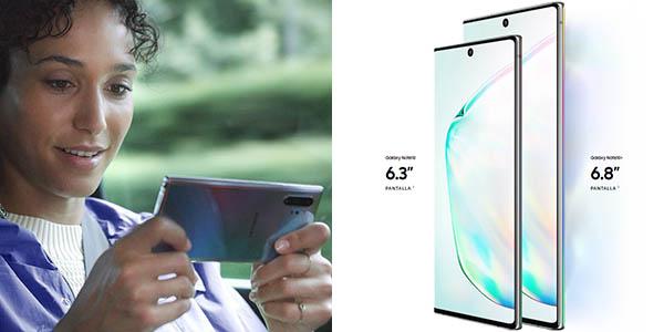 Samsung Galaxy Note 10 y 10+ en Amazon
