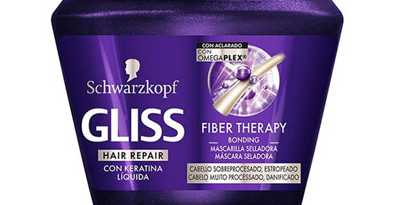 Gliss Fiber Therapy mascarilla para pelo dañado oferta