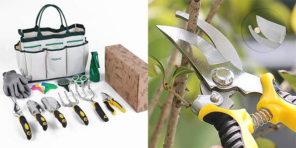 herramientas de jardín Yissvic relación calidad-precio estupenda