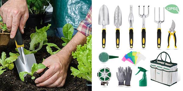 kit de herramientas de jardín Yissvic oferta