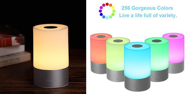 Lixada lámpara para mesita de noche regulable barata