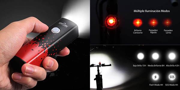 Juego de luces LED Tomshine para bicicleta barata