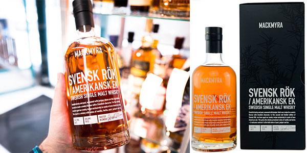 Whisky premium Mackmyra Svensk Rök American Oak de 700 ml barato