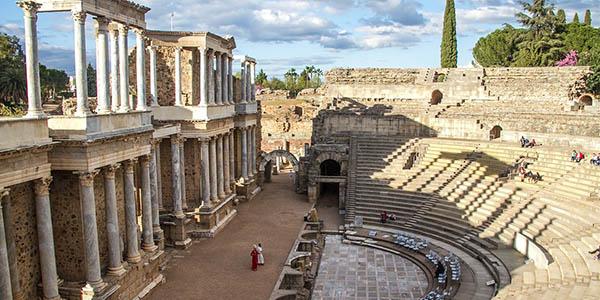 Mérida Patrimonio de la Humanidad en España alojamientos baratos