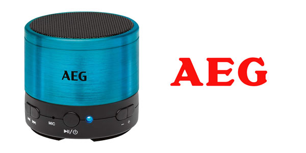 Mini altavoz Bluetooth AEG BSS 4826 barato en Amazon