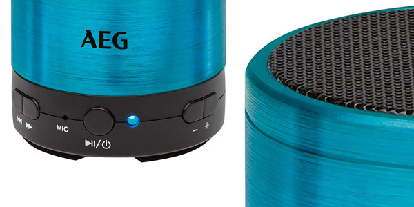 Mini altavoz Bluetooth AEG BSS 4826 en oferta en Amazon