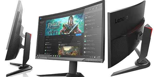 """Monitor curvo Lenovo Y27F de 27"""" Full HD barato"""