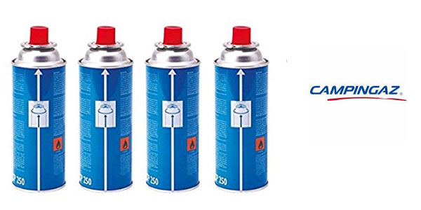 Pack 4 cartuchos gas campingaz cp250 en oferta amazon