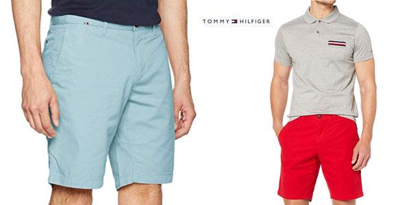 Pantalones chinos cortos Tommy Hilfiger Brooklyn Lightweight baratos en Amazon