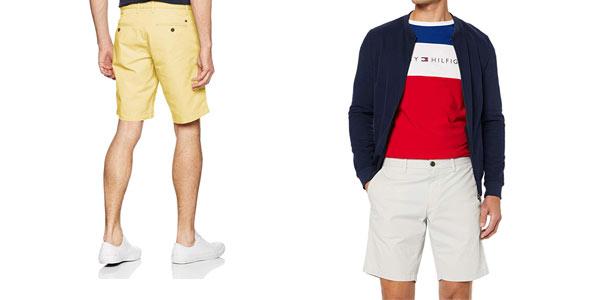 Pantalones chinos cortos Tommy Hilfiger Brooklyn Lightweight en oferta en Amazon