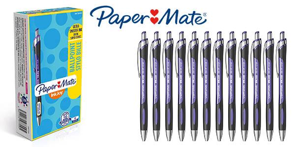 Paper Mate InkJoy 550RT bolígrafo púrpura chollo