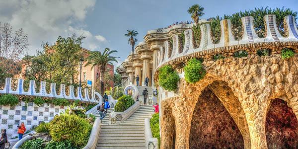 Parque Güell Patrimonio Humanidad en Barcelona