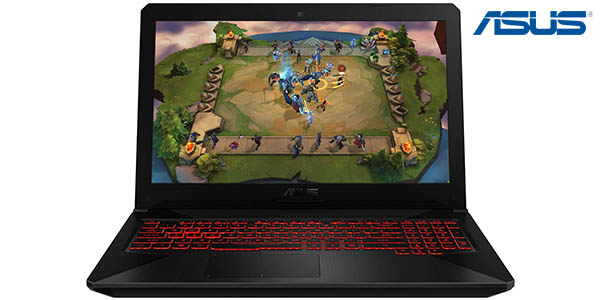 "Portátil ASUS TUF Gaming FX504GD-DM883 de 15,6"""