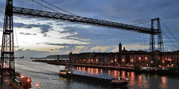 Portugalete Puente colgante Patrimonio Humanidad UNESCO