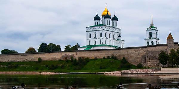 Pskov arquitectura en Rusia declarada patrimonio de la Humanidad