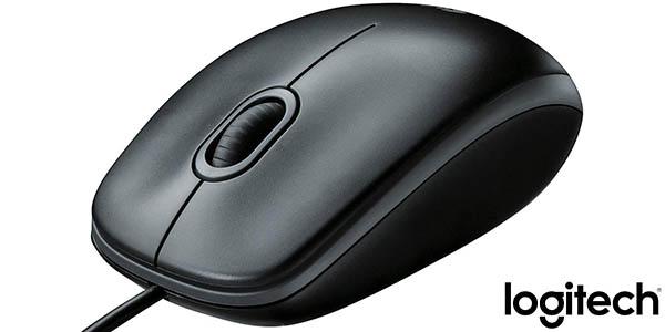 Ratón USB Logitech B100