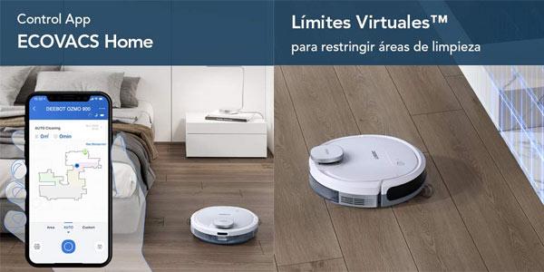 Robot aspirador Ecovacs Deebot Ozmo 900 en oferta en Amazon