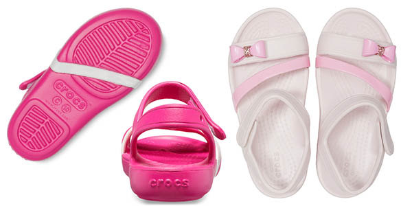 sandalias infantiles Crocs Lina Charm Sandal K oferta
