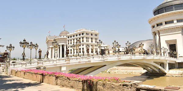 Skopje escapada barata Puente de noviembre 2019