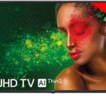 """Smart TV LG 55UM7100PLB UHD 4K HDR de 55"""" con IA"""