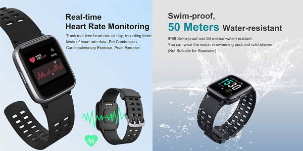 Smartwatch Arbily económico en Amazon