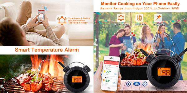 Termómetro digital AGM de cocción profesional para barbacoa barato