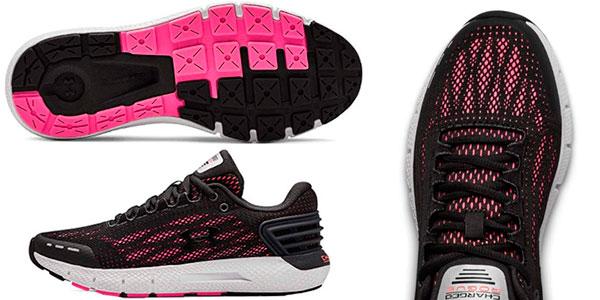 Zapatillas de running Under Armour Charged Rogue para mujer baratas