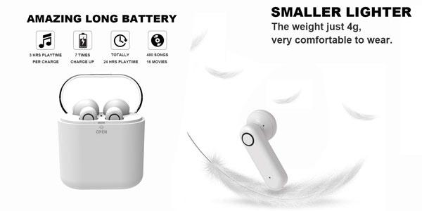 Auriculares TWS Yobola T2 en oferta en Amazon