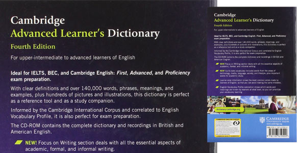 Cambridge Advanced Learner's Dictionary 4th Edition + CD-ROM chollo en Amazon