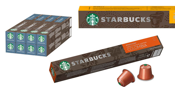 Cápsulas de café Starbucks para Nespresso baratas en Amazon
